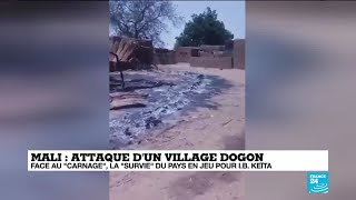 Attaque d'un village Dogon au Mali : face au