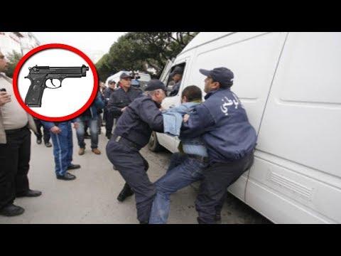بمسدس بلاستيكي خدع الشرطة  وادعي أنه عميد مخابرات...لكن شاهد كيف إكتشفوا حقيقته بالصدفة!