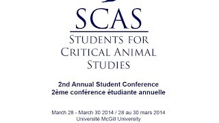 SCAS 2nd Annual Conference (2014) Panel 1