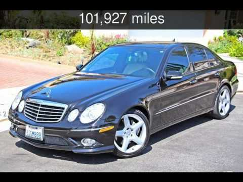 2007 MERCEDES BENZ E350 SPORT / AMG PKG PANORAMIC ROOF NAV. XENON LTS 3.5L  Used Cars   Woodland Hill