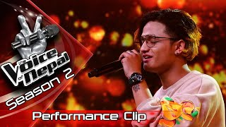 "Sanish Shrestha ""Ke Yo Maya Ho"" - LIVE -The Voice of Nepal Season 2 - 2019"