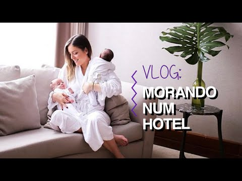 VLOG: MORANDO NUM HOTEL