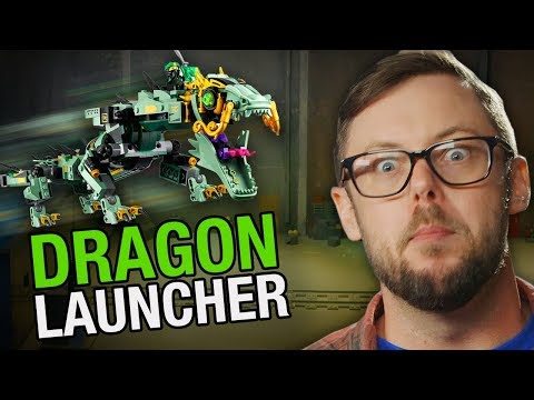 How to Make a LEGO NINJAGO Dragon Launcher – Beyond The Instructions