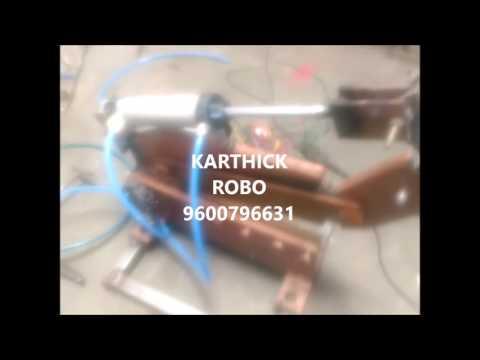 automatic Pneumatic Sheet Metal Shearing Machine mechanical engineering project topics