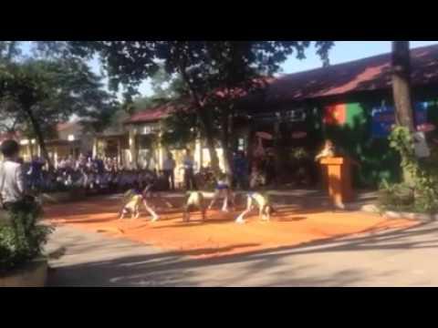 Múa Aerobic chào mừng Ngày 20-11 Trường Tiểu học Tuy An