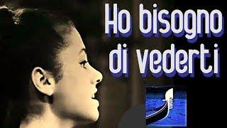 """GIGLIOLA CINQUETTI: """"HO BISOGNO DI VEDERTI"""" Live Sanremo Fes..."""