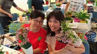 香港靈實恩光心光一班園藝治療師紀念專輯