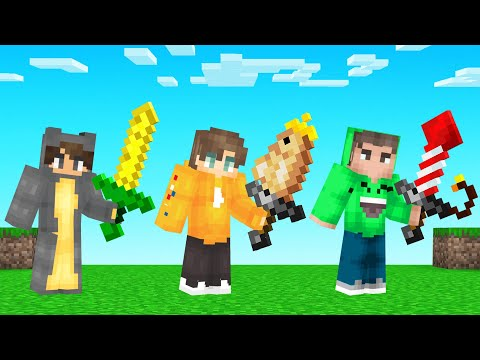 We Tried Crafting SWORDS From EVERY BLOCK In MINECRAFT!