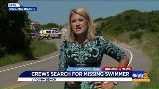 Virginia Beach Crews search for Jewish Teacher Missing in Water