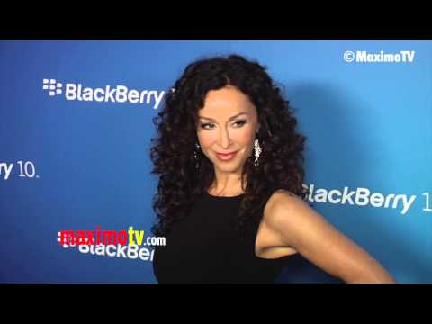 Sofia Milos Blackberry Z10 Smartphone Launch Red Carpet Arrivals #theborder #csimiami thumbnail