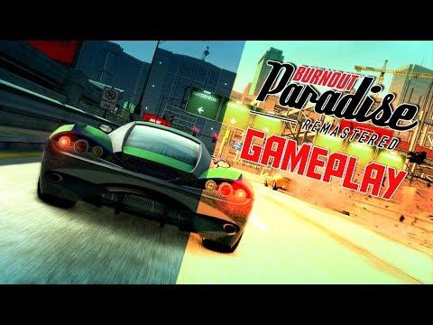 WE CRASHING AND BURNING! | Burnout Paradise Remastered Xbox One PS4 Gameplay