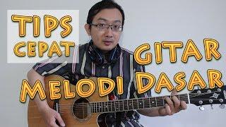 tips cepat gitar melodi dasar
