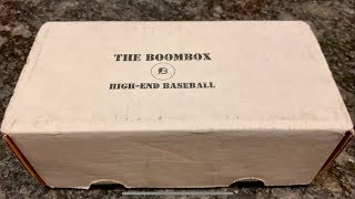 THE BOOMBOX HIGH END BASEBALL SUBSCRIPTION BOX!