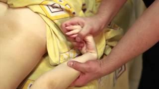 Общий классический массаж в исполнении Ховавко Александра