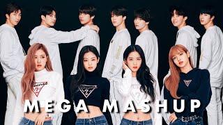 "Gambar cover BTS & BLACKPINK MEGA MASHUP [25 SONGS] (2016-2018) ""EUPHORIA"" | 1K SUBSCRIBER SPECIAL"