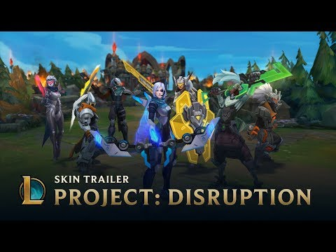 PROJECT: DISRUPTION | Skins Trailer - League of Legends