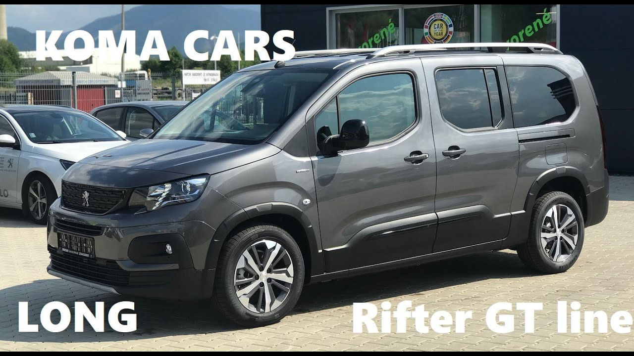 2019 Peugeot Rifter Long Gt Line 1 5 Bluehdi 130 Ext And Interior Auto Salon Bratislava 2019 By Automobile Classics
