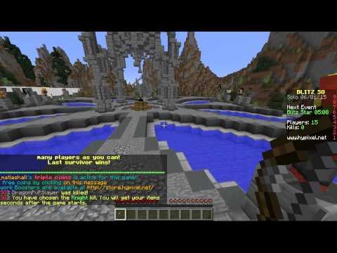 Minecraft Minijuegos | Hunger Games
