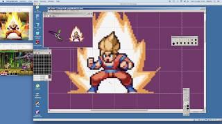 PIXEL ART TIMELAPSE - Dragon Ball Fighter Z