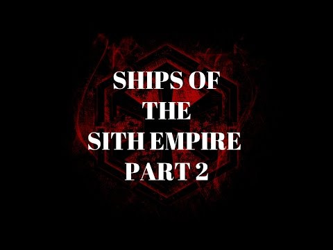 Ships of the Sith Empire