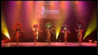 Australian Dance Festival 09 Samba by Latin Dance Australia