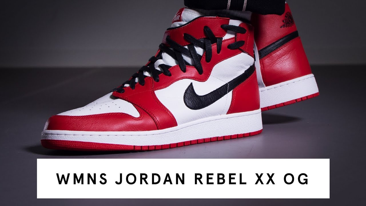 brand new b9f13 1cf12 WMNS Jordan 1 Rebel XX OG | Review
