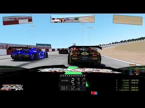 rFactor 2: HRF1RT Corvette GT3 - Riverside Raceway