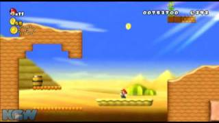 New Super Mario Bros Wii - Star Coin Location Guide - World 2-2 | WikiGameGuides