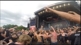 Slayer Mosh Pit GoPro Fortarock 2014