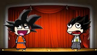 - goku y marvin cuentan chistes