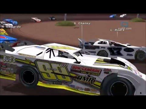 SimFans Jackpot 100 @ Tyler County Speedway - rFactor (DM16)