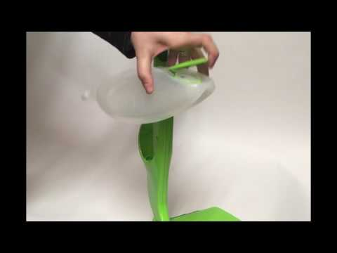 How to refill the Sabco SuperSwish Spray Mop Bottle?