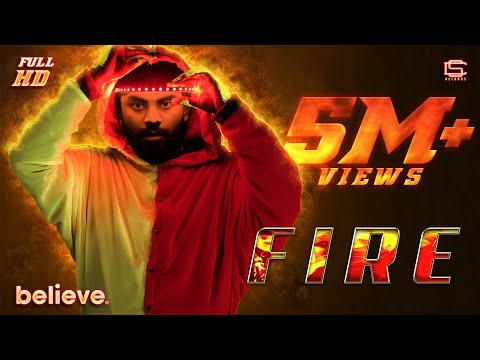 FIRE | CHANDAN SHETTY - OFFICIAL VIDEO | INTO PEACE PRODUCTION
