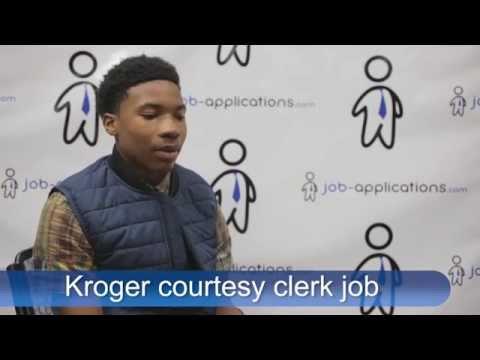 Kroger Interview - Courtesy Clerk