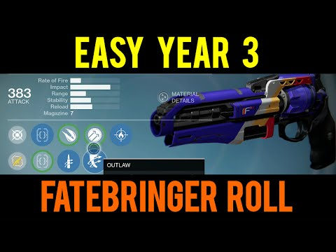 Easy Year 3 Fatebringer Hand Cannnon 'The Wail' Destiny: Rise of Iron - Weapon Review