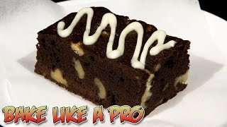 Easy Chocolate Walnut Brownies Recipe