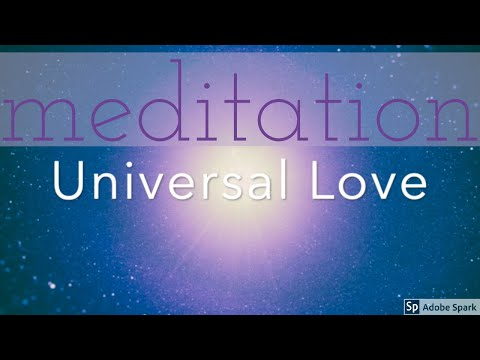 ASMR Guided meditation: tap into Universal Love. Expand your heart. Softly spoken, not whispered.