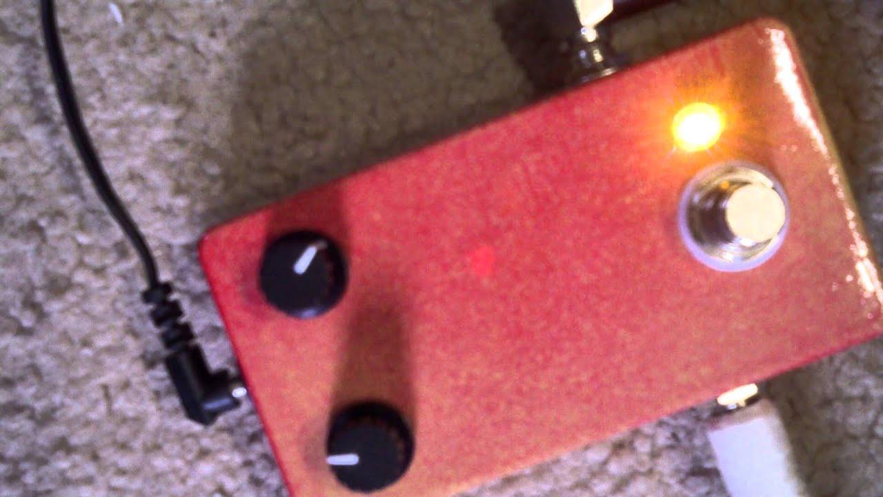 Jordan Bosstone With Silicon And Germanium Transistors