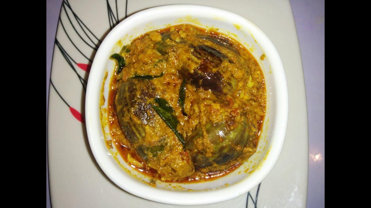 stuffed brinjal curry recipenorth karnataka stuffed