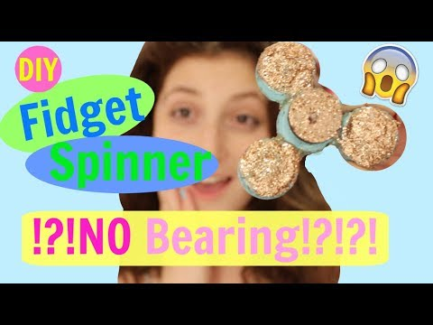 DIY Fidget Spinner Without Bearings!