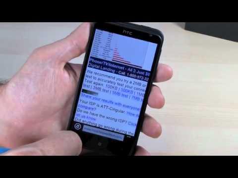 HTC TITAN - Review, Speedtest, First Look, Comparison