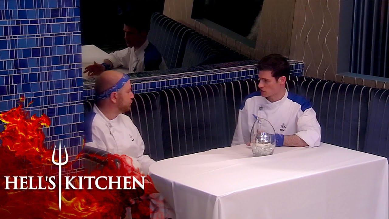 Gordon Forces Two Chefs To Talk | Hell's Kitchen