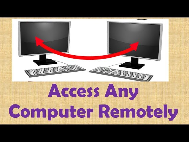 how to remotely access a computer with ip address easily in