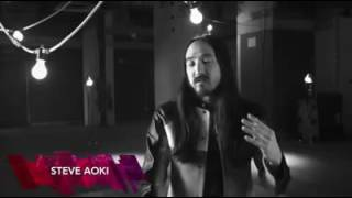 Steve Aoki talking about One Direction