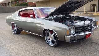 D Town ShowOffz....Bloody 71' Chevelle SS