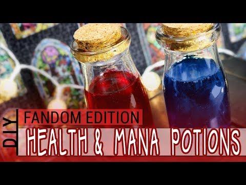DIY : Custom Health & Mana Potions : FANDOM EDITION