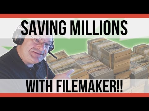 Saving Millions with FileMaker - FMSP 5.1 New Calendar - March 2018 - FileMaker Training
