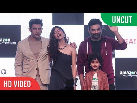 UNCUT - BREATHE Trailer Launch | Amazon Prime | R. Madhavan, Amit Sadh, Sapna Pabbi