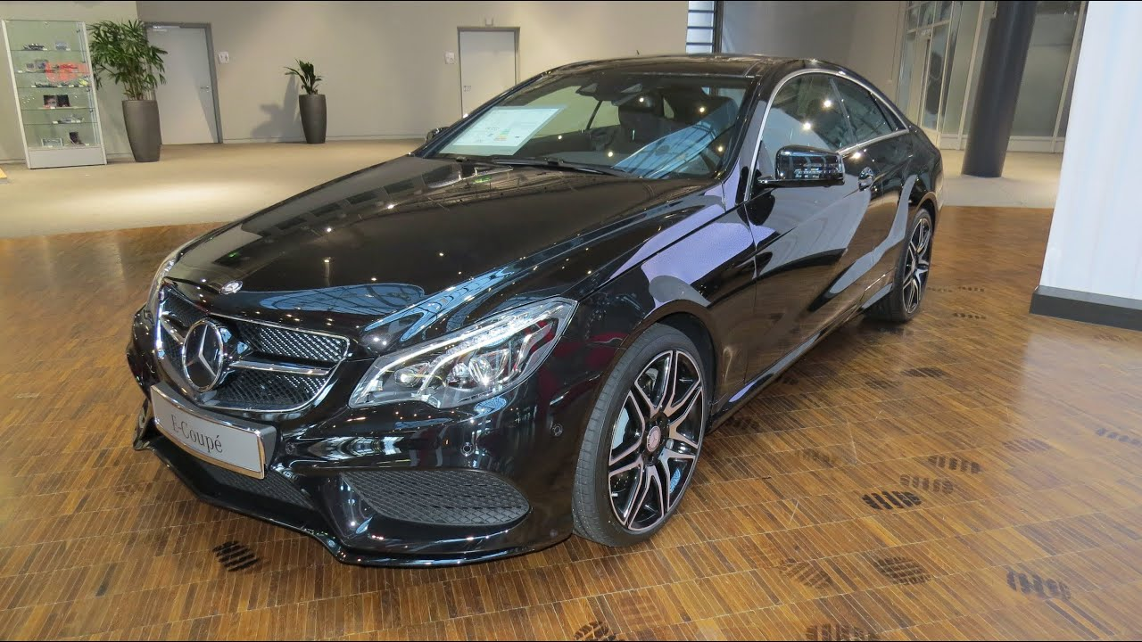 2015 mercedes benz e 500 coupe amg sport youtube. Black Bedroom Furniture Sets. Home Design Ideas