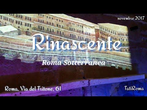 Roma sotterranea. Rinascente via del Tritone